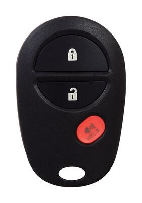 DURACELL Renewal Kit Automotive Replacement Key Toyota GQ43VT20T 3-Button Case & Button Pad Dou