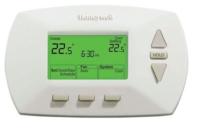 Honeywell 3-3/4 in. H 5-1-1 Day Digital Programmable Thermostat