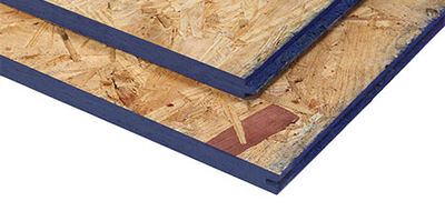 "OSB Plywood 4' x 8' x 1/4"""