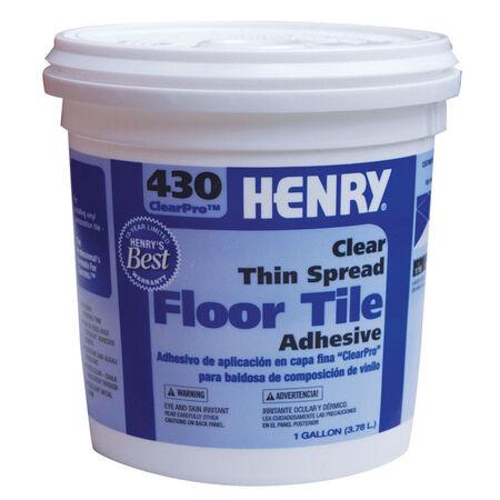 Henry 430 ClearPro Floor Tile Adhesive 1 gal.