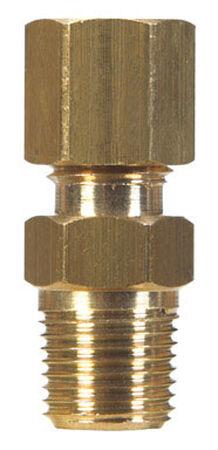 JMF 7/8 in. Dia. x 3/4 in. Dia. Brass Compression Connector