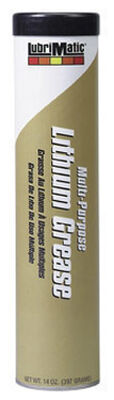 Lubrimatic Lithium Grease 14 oz. Cartridge