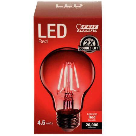 FEIT Electric Filament LED Bulb 3.6 watts A-Line A19 1 pk