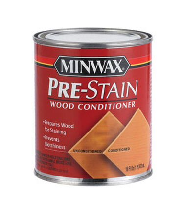 Minwax Oil-Based Pre-Stain Wood Conditioner Stain 1 pt.