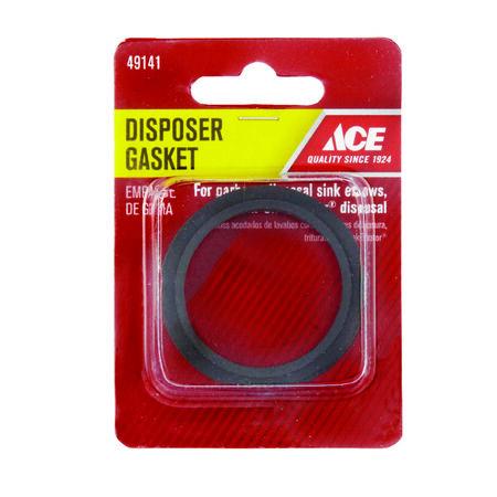 Ace Garbage Disposal Gasket Black