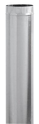 Imperial Manufacturing 3 in. Dia. x 24 in. L Galvanized Steel Furnace Pipe Metallic