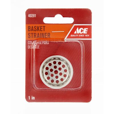 Ace 1 in. Dia. Replacement Strainer Basket Stainless Steel