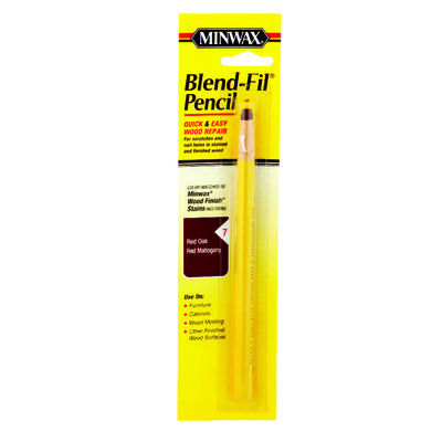 Minwax Blend-Fil No. 7 Red Mahogany Red Oak Wood Pencil Wood