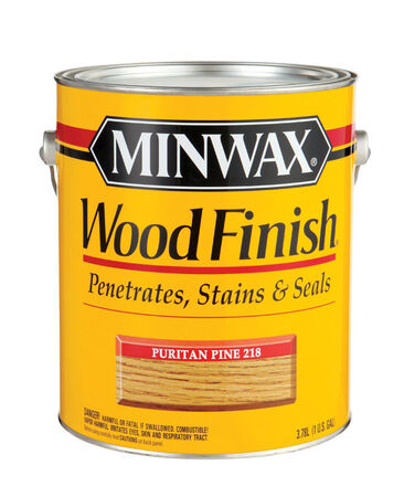 Minwax Wood Finish Transparent Oil-Based Wood Stain Puritan Pine 1 gal.