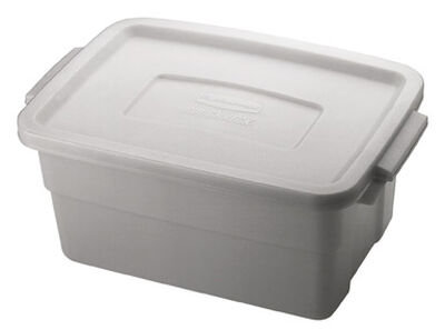 Rubbermaid Roughneck Storage Box 7 in. H x 10.3 in. W x 3 gal.