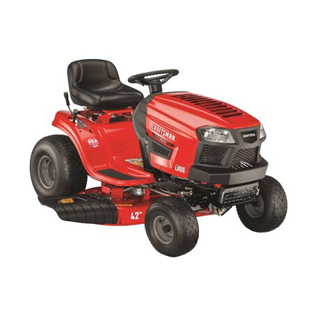 Craftsman 42 in. W 439 cc Mulching Capability Lawn Tractor