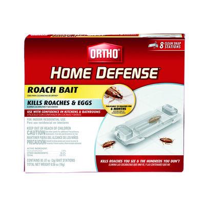 Ortho Home Defense Liquid Roach Bait Station 8 pk