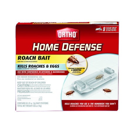 Ortho Home Defense Liquid Roach Bait Station 8 pk