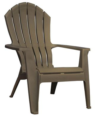 Adams RealComfort Adirondack Chair 1 pc. Brown
