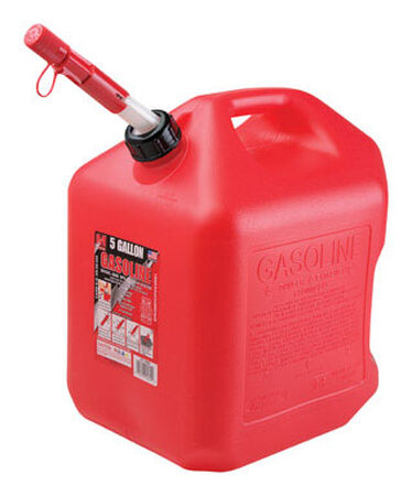 Midwest Can Plastic Gas Can 5 gal.