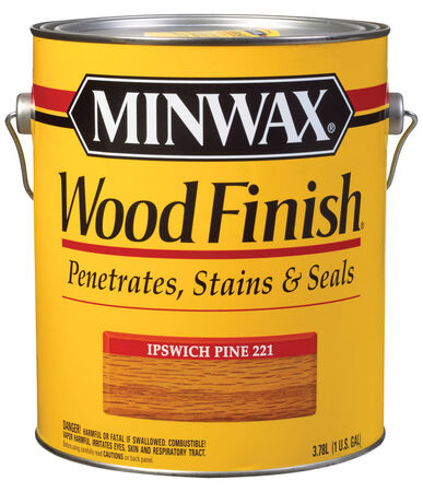 Minwax Wood Finish Transparent Oil-Based Wood Stain Ipswitch Pine 1 gal.