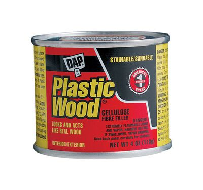 DAP Plastic Wood Walnut Wood Filler 4 oz.