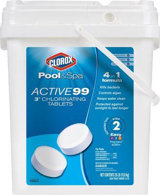 Clorox Active99 3 Chlorinating 35lb