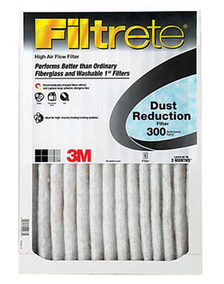3M Filtrete 12 in. W x 12 in. L x 1 in. D Air Filter