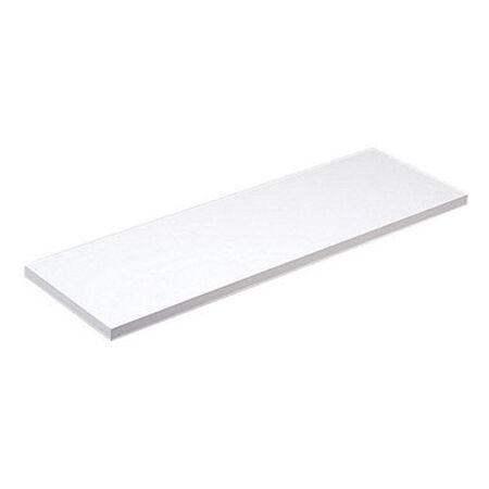 Knape & Vogt 10 in. H x 36 in. L x 10 in. W White Particleboard/Melatex Laminate Shelf Board
