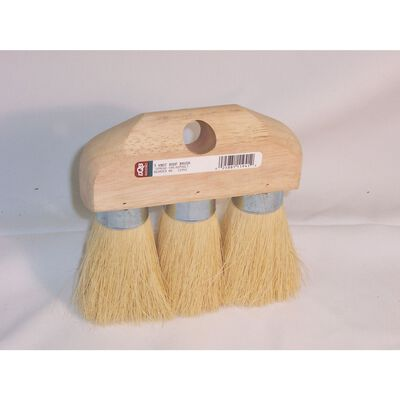 DQB 3 Knot Roof Brush 3-1/2 in. W