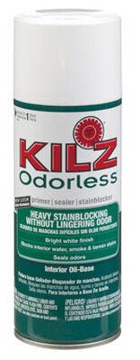Kilz Odorless Oil-Based Interior Primer 13 oz. White