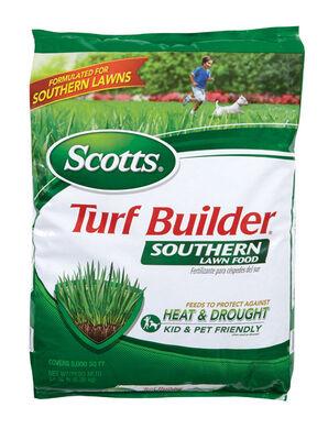 Scotts Turf Builder Lawn Fertilizer All Grass Types 5000 sq. ft. Granules 32-0-10