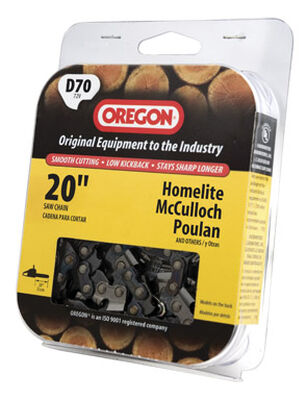 Oregon Chainsaw Chain 70 links 20 in. For Homelite McCulloch Poulan 72V