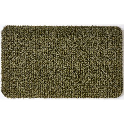 Grassworx Flair Medium Urban Green Astroturf Doormat 30 in. L x 18 in. W