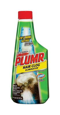 Liquid-Plumr Hair Clog Eliminator Clog Remover Gel 16 oz.