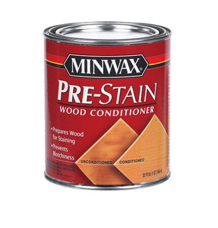 Minwax Oil-Based Pre-Stain Wood Conditioner Clear 1 qt.