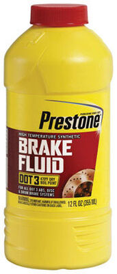 Prestone 12 oz. DOT 3 Brake Fluid