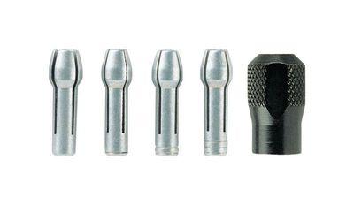 Dremel Aluminum Quick Change Collet Nut Kit 5 pk