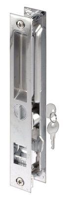 Prime-Line Patio Door Handle Set Steel Chrome Left Handed Right Handed Outdoor