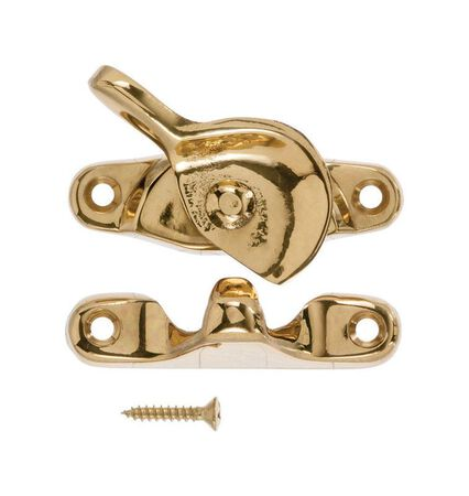 Ace Solid Brass Solid Brass Crescent Sash Lock Brass 1