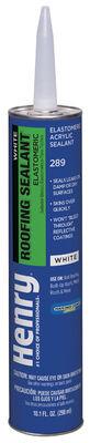 Henry Water Based White Roof Sealant 10.1 oz. White