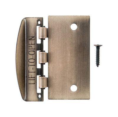 Ace Antique Brass Door Flip Lock 2-3/4 in.
