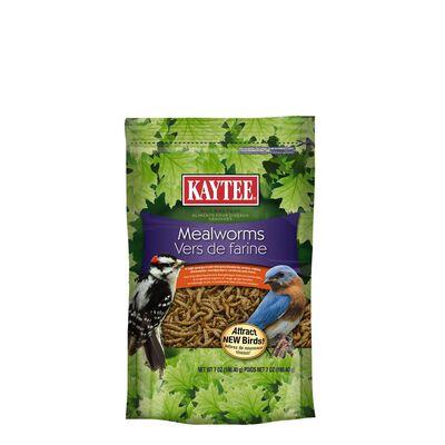 Kaytee Wren Wild Bird Food Mealworms 7 oz.