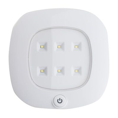Fulcrum White White Ceiling Fixture 2.3 in. D x 0.5 in. W x 9.25 in. H C LED