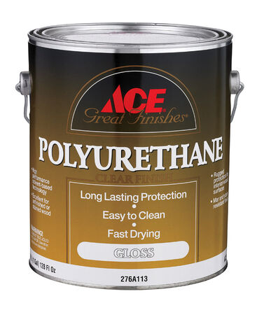 Ace Indoor Clear Gloss Polyurethane 1 gal.
