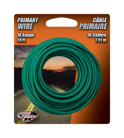 Coleman Cable 24 ft. L Primary Wire 16 Ga. Carded