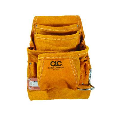 CLC Leather Nail & Tool Bag 10 outside pockets