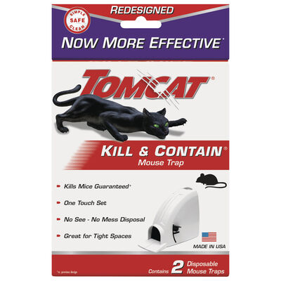Tomcat Small Kill and Contain Animal Trap For Mice 2 pk