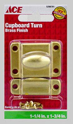 Ace Interior Steel Satin Brass Cupboard Turn