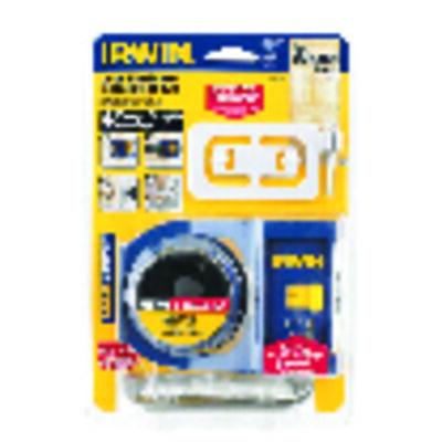 Irwin Door Lock Install Kit Carbon Steel