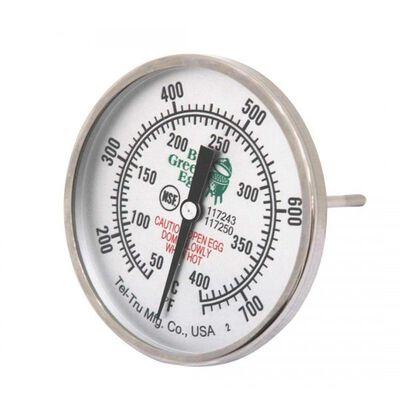 Big Green Egg Large Temp Gauge 3in