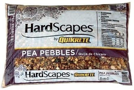 Quikrete Pebbles Pea .5 cu. ft.