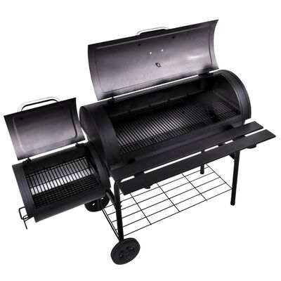 Char-Broil Deluxe Charcoal Offset Smoker Black