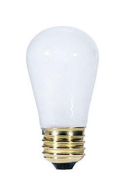 Westinghouse Incandescent Light Bulb 11 watts 60 lumens 2700 K S14 White (Frosted) Medium Base (
