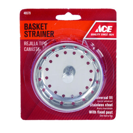 Ace Replacement Strainer Basket Chrome
